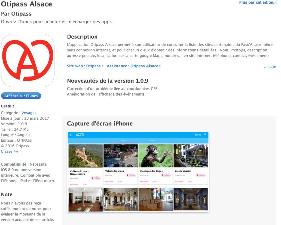 app-pass alsace