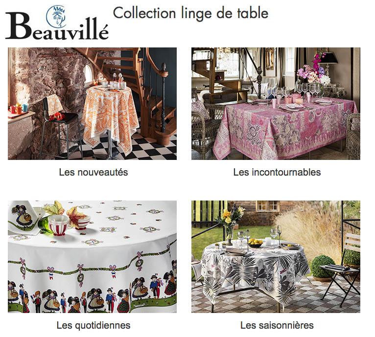 Beauvillé® Linge de table Alsace